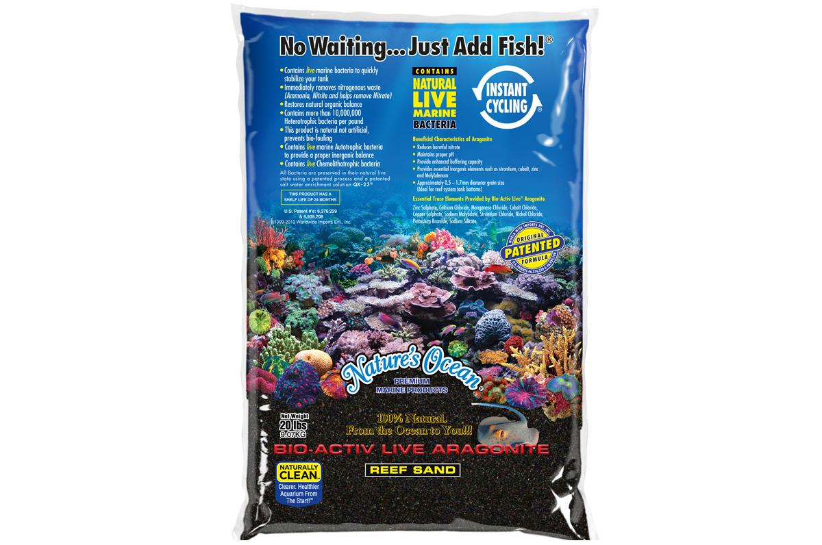 Aquarium Live Black Sand